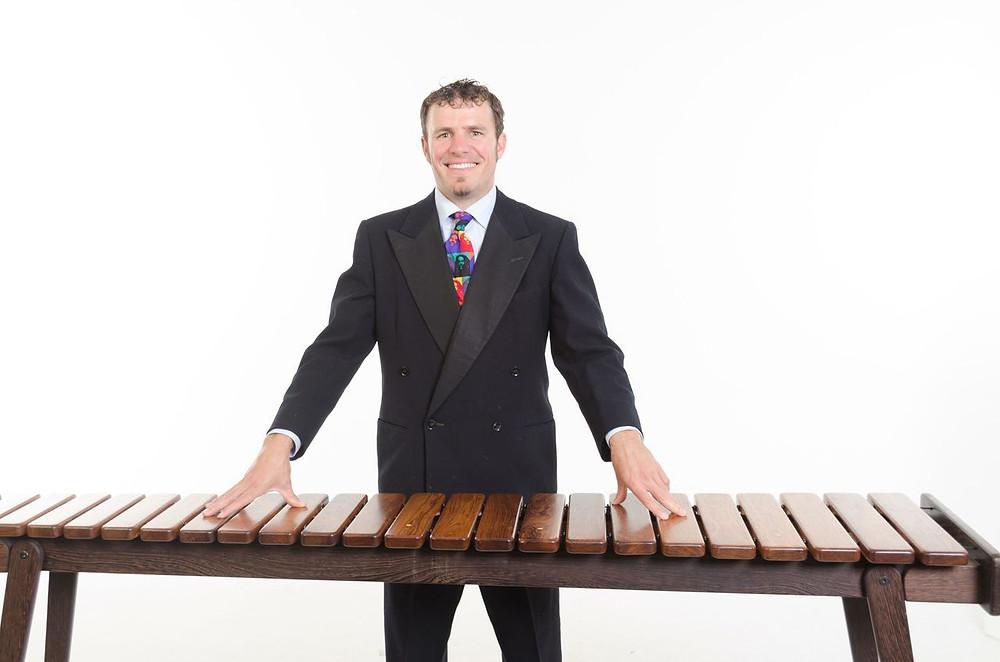 Band leader, Eric Miller