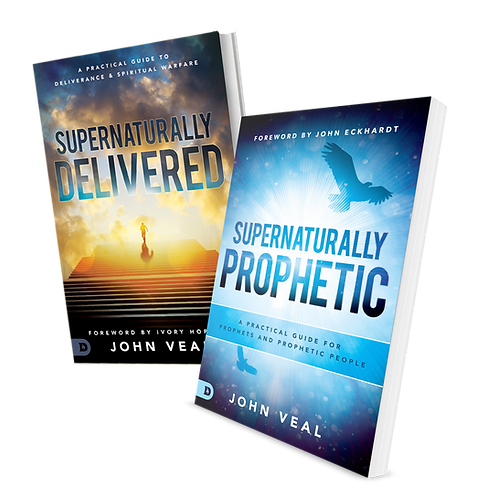SUPERNATURALLY DELIVERED & PROPHETIC UNSIGNED BOOK