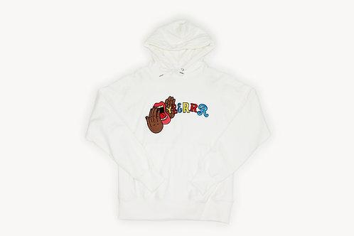 "Yeerrrr ""WHITE"" Embroidered Hoodie"