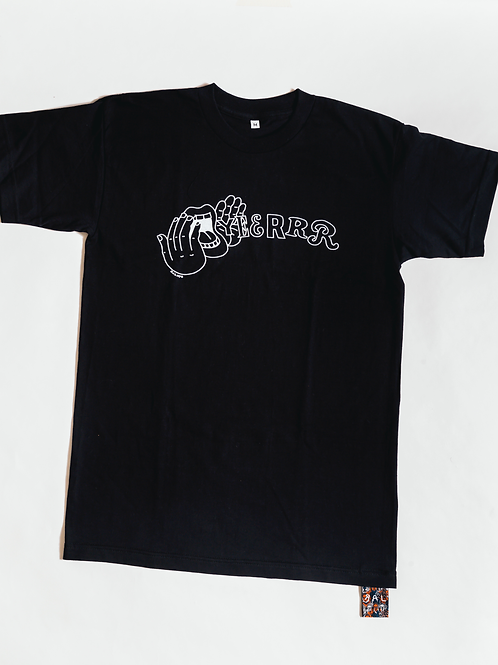 Yeerrr T-shirt Black