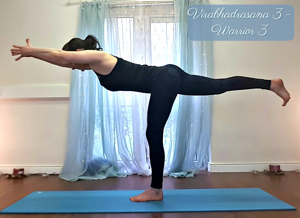 Virabhadrasana 3 (Warrior 3 Pose)