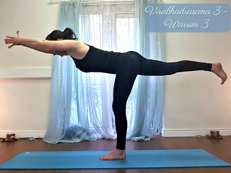 Take Action with  Virabhadrasana 3 - Warrior 3 Pose