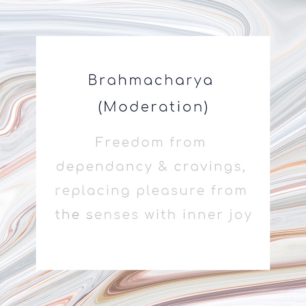 Brahmacharya (Moderation)