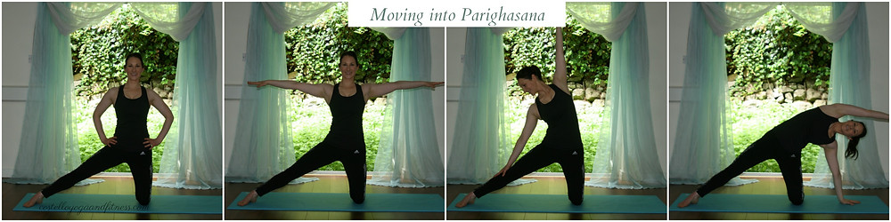 Moving into Parighasana