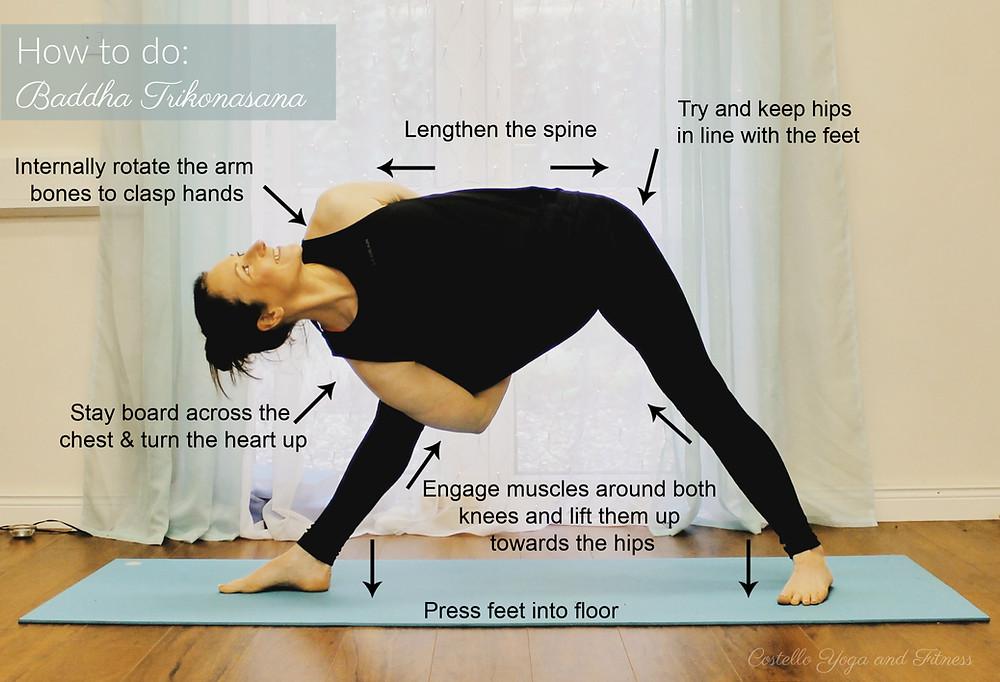 How to do Bound Triangle Pose