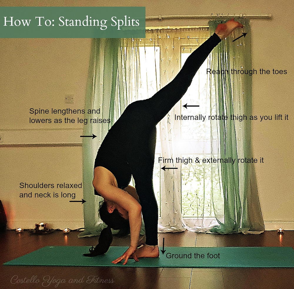 How to do Standing Splits