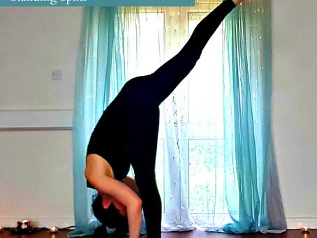Standing Splits - A Balance between Strength and Flexibility