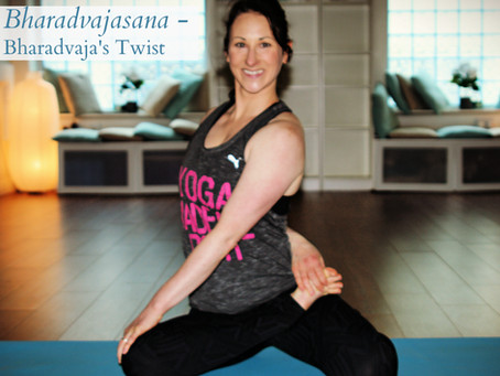 Cultivating Self Love and Love for Others Bharadvajasana's - Bharadvaja's Twist