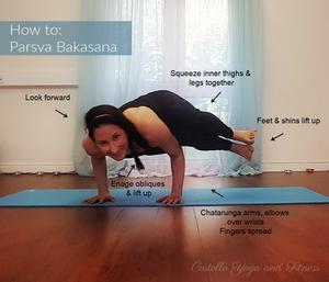 How to do Parsva Bakasana