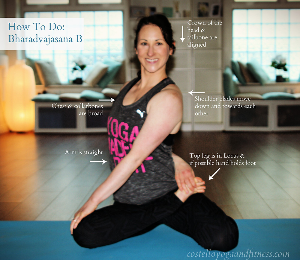 How to do Bharadvajasana II