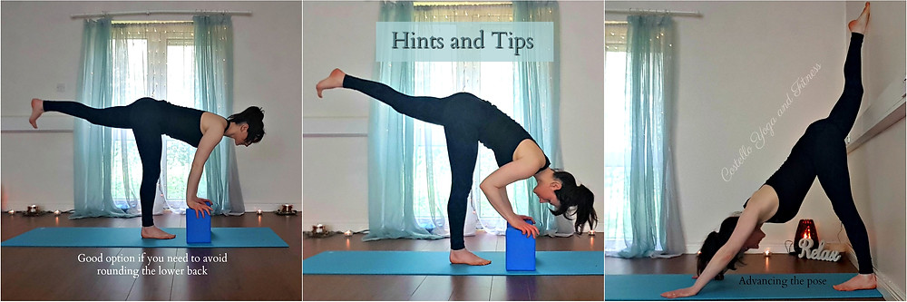 Modifications for Standing Splits