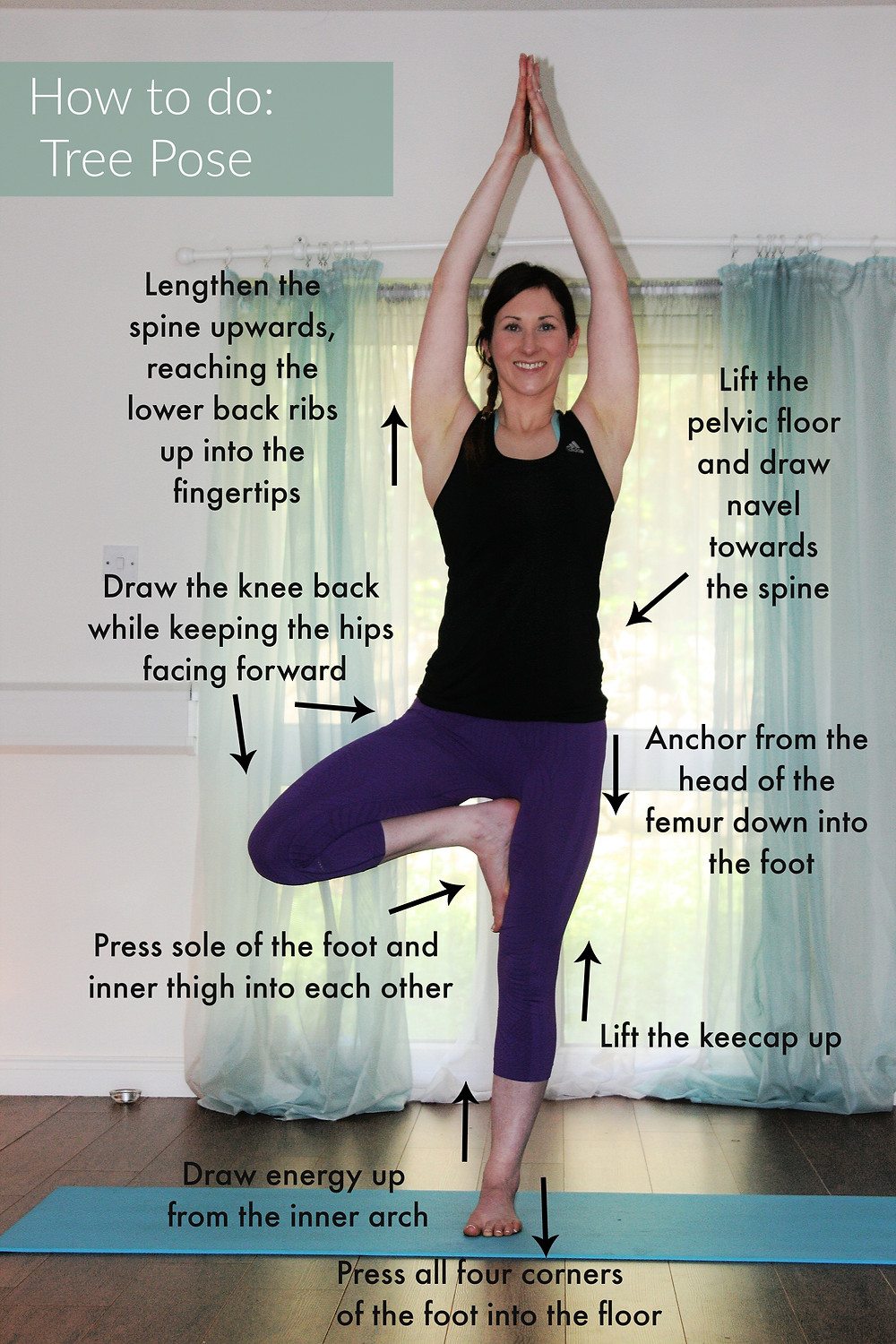 How to do Tree Pose