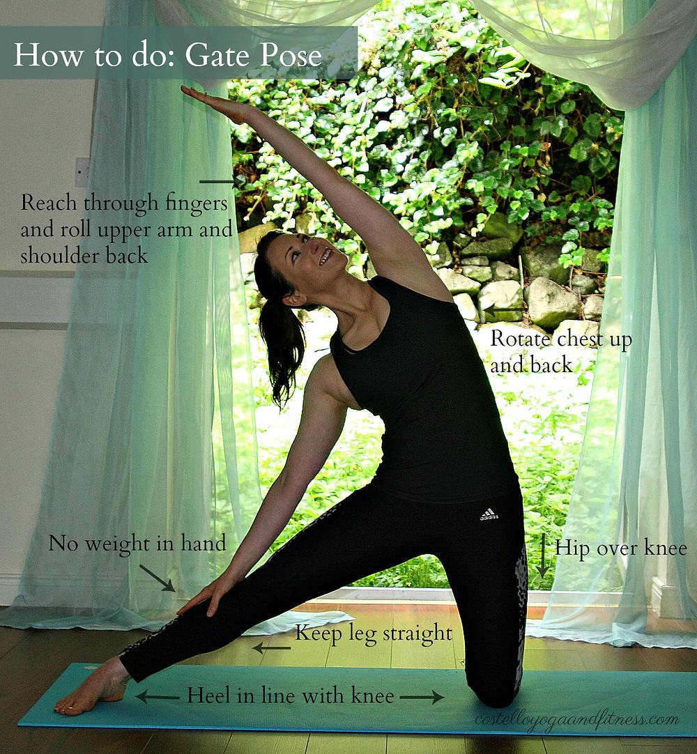 How to do Gate Pose (Parighasana)