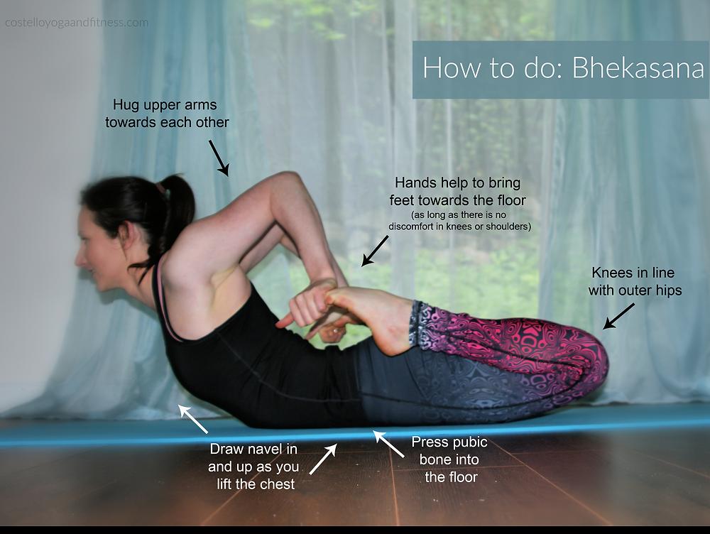 How to do Bhekasana (Frog Pose)