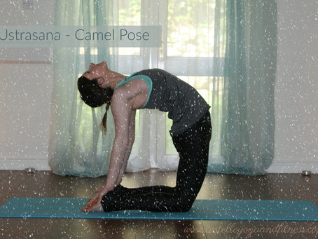 Open your heart this Christmas with Ustrasana (Camel Pose)