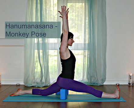 3febf6e0bea3a7 Take a Leap of Faith into Hanumanasana - Yogi Splits aka Monkey Pose ...
