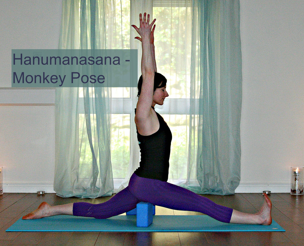 Hanumanasana Pose Story