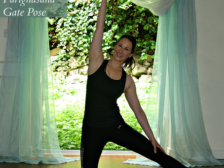 Lighten and Energise Your Side Body Gate Pose - Parighasana
