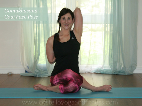 Open Your Shoulders and Hips in Gomukhasana - Cow Face Pose