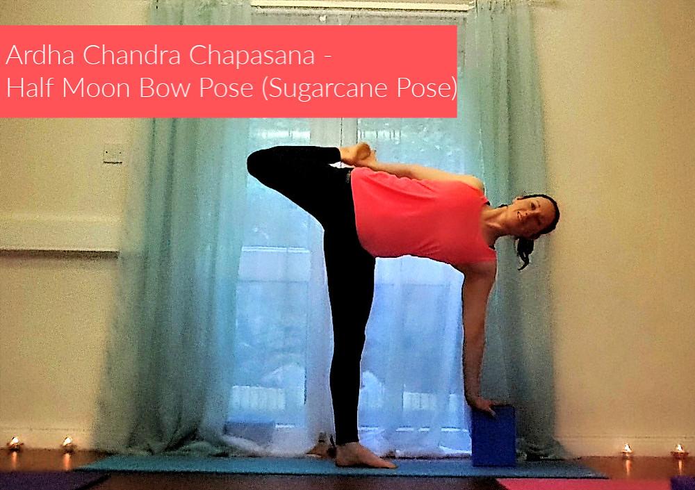 Ardha Chandra Chapasana (Sugarcane Pose)