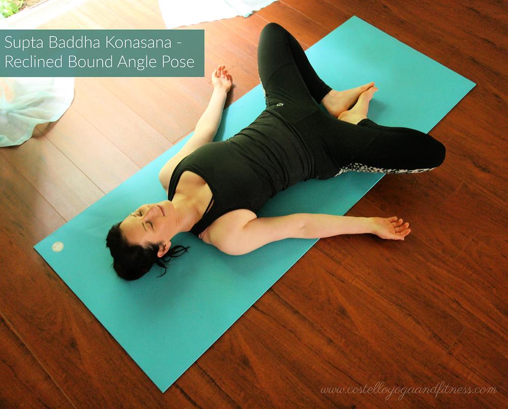 Supta Baddha Konasana - Reclined Bound Angle Pose