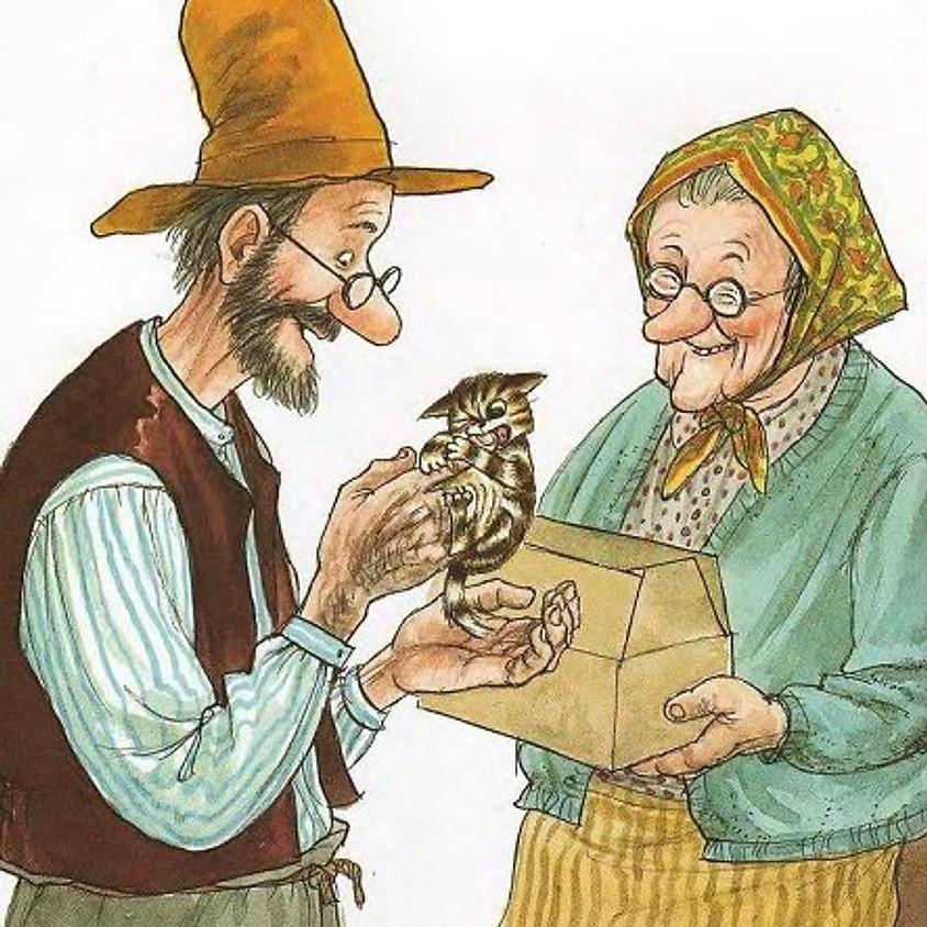 Тетрализованная читка книги «История о том, как Финдус потерялся, когда был маленький»
