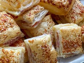 Torta rustica cotto e formaggio