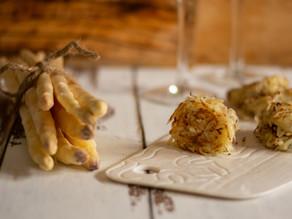 Rostï di patate e asparagi