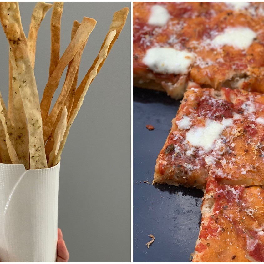 Pizza, focaccia e grissini - nuova data Lavis