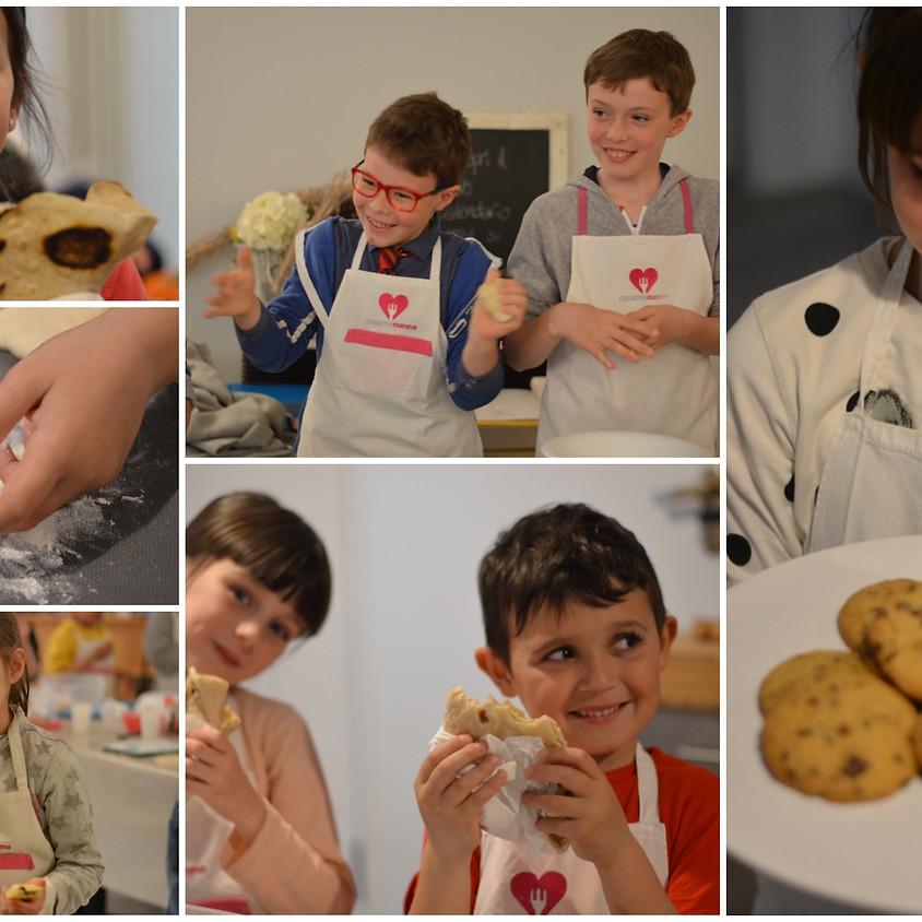 Corso di cucina junior - GIUGNO - turno del pomeriggio