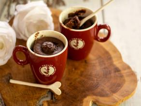 Mug cake al cioccolato e caffè