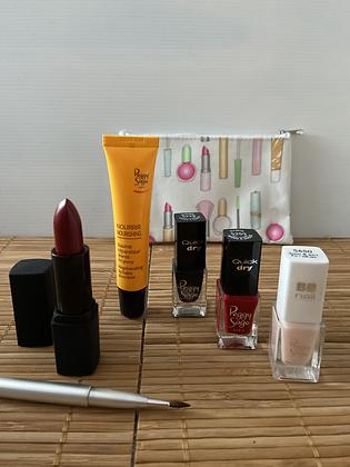 Coffret Maquillage & Soin Lèvres - Peggy Sage