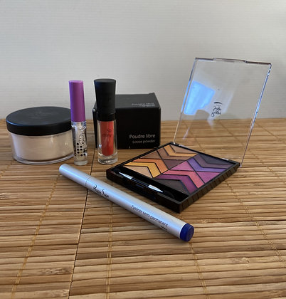 Coffret Maquillage Tons chaud et froid - Peggy Sage