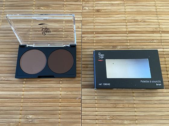 Maquillage Sourcils Châtain foncé ou Brun - Peggy Sage