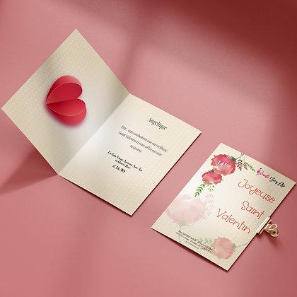 Carte Cadeau - Édition Saint Valentin