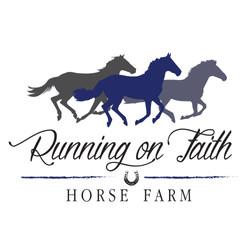 Running on Faith Logo