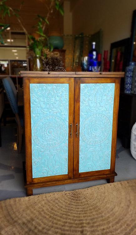 Flower Bar Cabinet