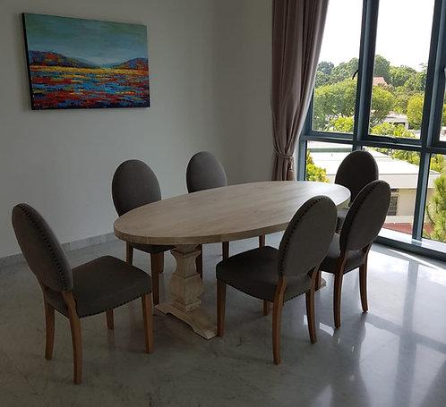 Grange ll Pedestal Oval Table