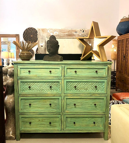 Mossim Cina 8 Chest of Drawers