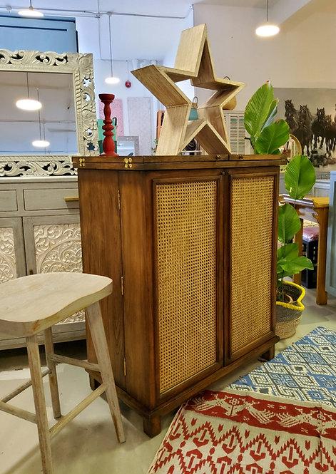 Lamba Flip Top Bar Cabinet