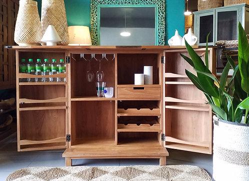Block Bar Cabinet
