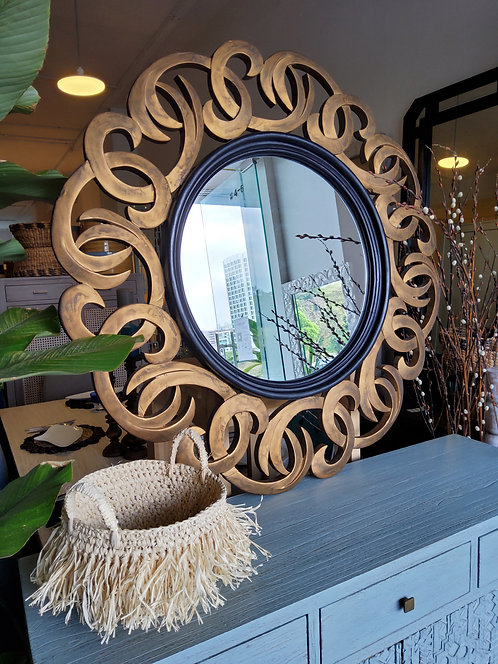 Vix Motif Mirror