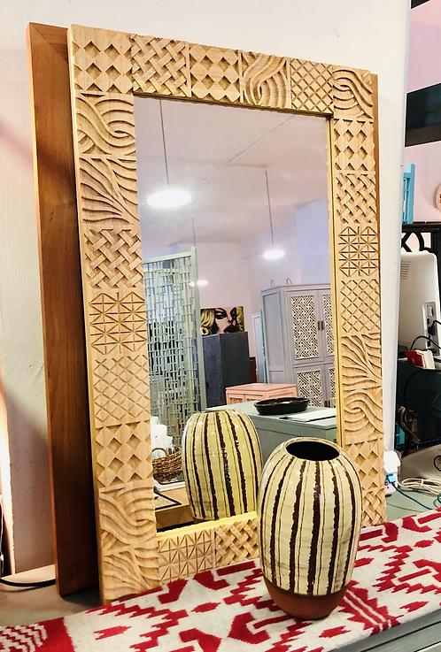 Tribal Motif Mirror
