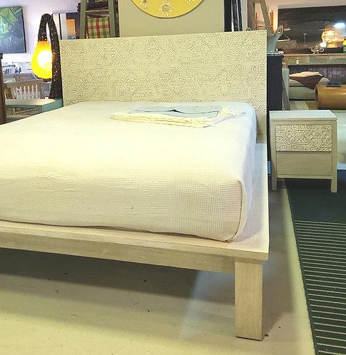 Ikat Platform Bed Frame