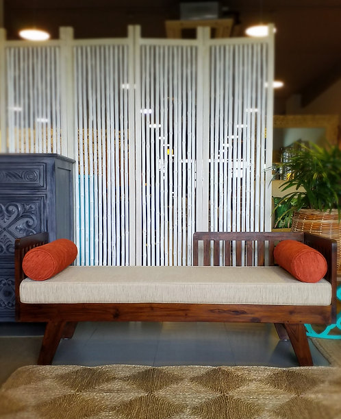 Slat Daybed with Cushions