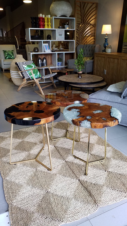 Resin Teak Table