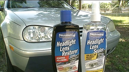 Blue Magic Headlight Lens Treatment