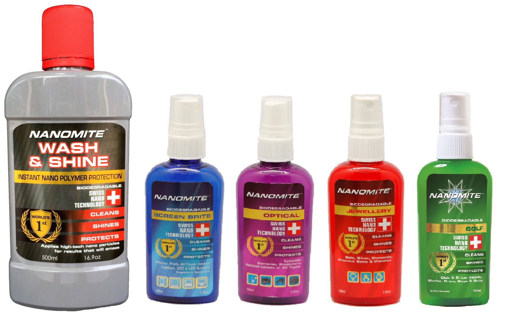 Nanomite Product Range Photo-New