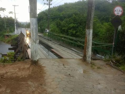 Ponte Sahy x Baleia - Liberação de acesso com restrição