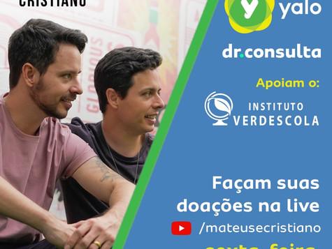 Live em favor do Instituto Verdescola